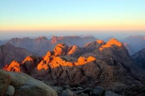 Гора Моисея и монастырь св. Екатерины